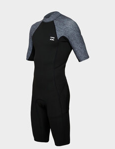 2MM ABSOLUTE FL BZ SS SPRINGSUIT-wetsuits-Backdoor Surf