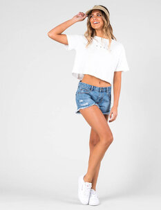 WONDER 2 DENIM SHORT-womens-Backdoor Surf