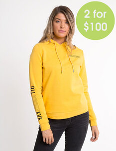 2FOR100 MOVEMENT HOODY-womens-Backdoor Surf