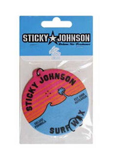 STICKY JOHNSON AIR FRESHENER-mens-Backdoor Surf