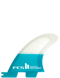 FCS II PERFORMER PC QUAD REAR FINS-surf-Backdoor Surf
