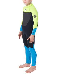 YOUTH 3X2 D PATROL FL STEAMER-wetsuits-Backdoor Surf