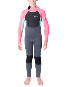 3X2 GIRLS ENERGY GBS STEAMER-wetsuits-Backdoor Surf