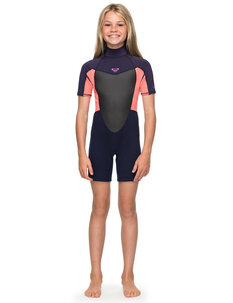 GIRLS 2MM PROLOGUE BZ FL SPRING-wetsuits-Backdoor Surf