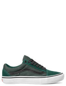 OLD SKOOL PRO TREKKING - GREEN BLACK-footwear-Backdoor Surf
