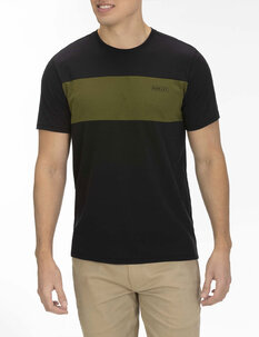 DF BLOCKED TOP TEE-mens-Backdoor Surf