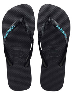 LOGO FILETE JANDAL - BLACK LIGHT BLUE-footwear-Backdoor Surf