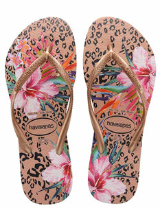 SLIM ANIMAL FLORAL JANDAL-footwear-Backdoor Surf