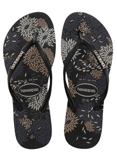 SLIM LOGO METALLIC JANDAL - BLOOM-footwear-Backdoor Surf