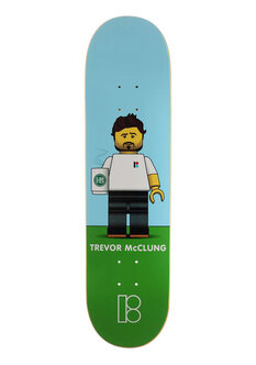 TREVOR BLOCKHEAD DECK -8.1-skate-Backdoor Surf