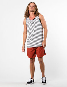JUNGLE STRIPE TANK-mens-Backdoor Surf
