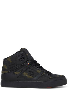 PURE HIGH TOP TX SE - CAMO ORANGE-footwear-Backdoor Surf