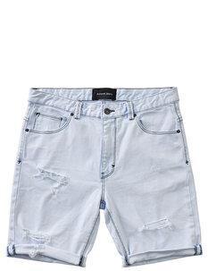A DROPPED SLIM SHORT - CHAOS RAVE-mens-Backdoor Surf