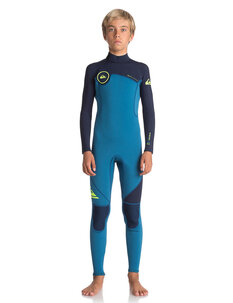 BOYS 3X2 SYNCRO SERIES BZ FLT STEAMER-wetsuits-Backdoor Surf