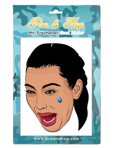 KIM CRYING FACE AIR FRESHENER-mens-Backdoor Surf