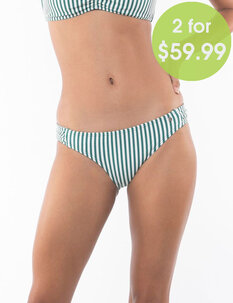 2FOR59.99 EVE GATHER PANT - STRIPE-womens-Backdoor Surf