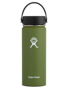 HYDRO FLASK WIDE MOUTH DRINK BOTTLE - 18oz-mens-Backdoor Surf