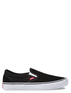 SLIP ON PRO - BLACK WHITE GUM-footwear-Backdoor Surf