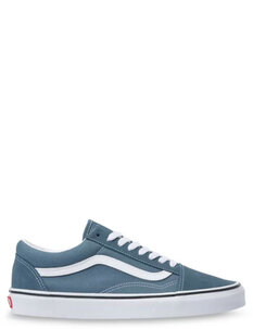UA OLD SKOOL - BLUE TRUE WHITE-footwear-Backdoor Surf