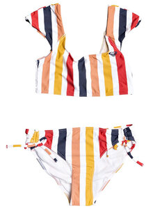 GIRLS LOVIN SWIM TEE BRA BIKINI SET-kids-Backdoor Surf