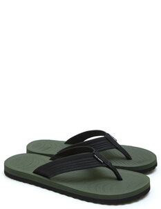 DBAH JANDAL - BLACK GREEN-footwear-Backdoor Surf