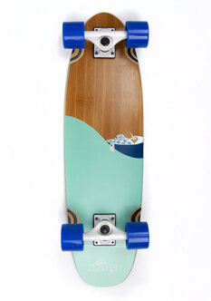 MINI GOODNIGHT KIWI LONGBOARD - 27-skate-Backdoor Surf