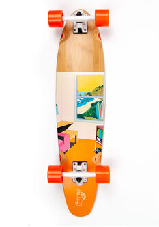 FLEX RETRO BACH LONGBOARD - 34-skate-Backdoor Surf
