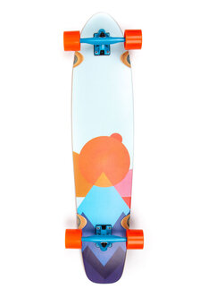 KICKTAIL SUNDOWN LONGBOARD - 40-skate-Backdoor Surf