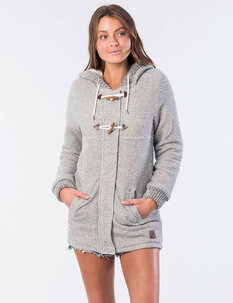 DENNY LONGLINE FLEECE-womens-Backdoor Surf