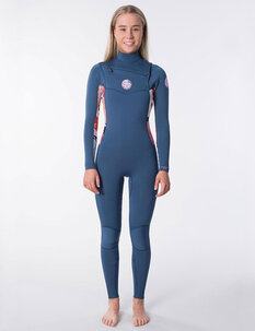 3X2 WOMENS DAWN PATROL CZ STEAMER-wetsuits-Backdoor Surf