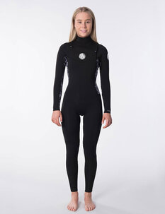 4X3 WOMENS DAWN PATROL CZ STEAMER-wetsuits-Backdoor Surf