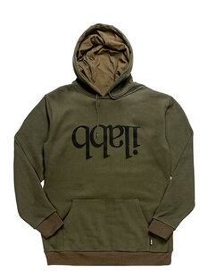 CAPSIZE HOOD - ARMY GREEN-mens-Backdoor Surf
