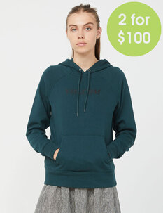 2FOR100 GET MORE HOODIE - EMERALD GREEN-womens-Backdoor Surf