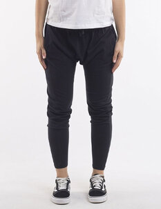 FLUID PANT - BLACK-womens-Backdoor Surf