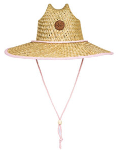 GIRLS PINA TO MY COLADA STRAW HAT-kids-Backdoor Surf