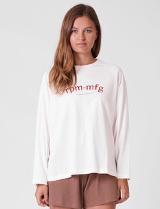 BOW LS TEE-womens-Backdoor Surf