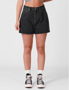 DENIM SHORT-womens-Backdoor Surf