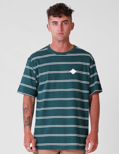 STRIPE TEE-mens-Backdoor Surf