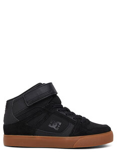 KIDS PURE HIGH TOP EV - BLACK GUM-footwear-Backdoor Surf
