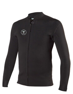 2MM FRONT ZIP LS JACKET-wetsuits-Backdoor Surf