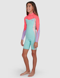 TEEN 2MM SYNERGY LS FL SPRINGSUIT-wetsuits-Backdoor Surf