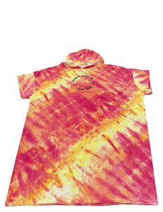 SJ TIE DYE HOODED TOWEL-mens-Backdoor Surf