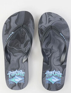 BOYS FLAMING SHAKA JANDALS-footwear-Backdoor Surf