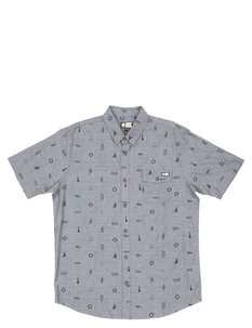 BOWLINE WOVEN SHIRT-mens-Backdoor Surf