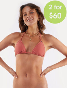 2FOR 59.99 EVE STRING BIKINI TOP-womens-Backdoor Surf
