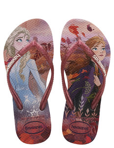 KIDS SLIM FROZEN JANDAL - CRYSTAL ROSE-footwear-Backdoor Surf