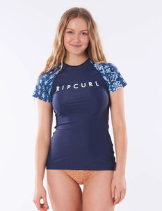 WOMENS TROPIC SHACK RASHIE-wetsuits-Backdoor Surf