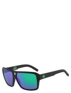 THE JAM LL H20 - MATTE BLACK GREEN ION POLARIZED-mens-Backdoor Surf