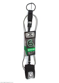 6FT REG MOULDED LEASH-leg-ropes-Backdoor Surf